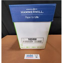 """Box of Hammerhill Premium 8.5"""" x 11"""" Color Copy Paper *New Factory Sealed*"""
