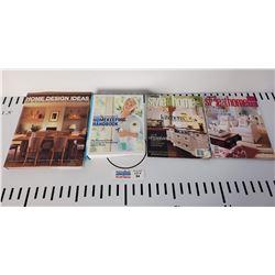 Lot of 6 Home Design Books