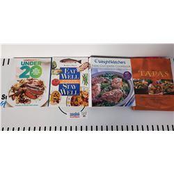 Lot of 11 Recipe Books