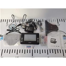 """Brada 5.6"""" Portable GPS with built in DVD Player *New in Open Box*"""