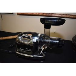 Omega Juice Extractor, model no. # 8006, working at time of cataloguing, note internal auger has a c