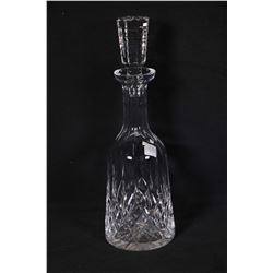 "Waterford Lismore crystal 10"" spirit decanter with stopper"