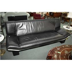 Ultra modern Italian made leather sofa made by Italcomfort