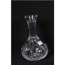 Waterford Lismore crystal wine server . Note: No Shipping. Local Pickup Only