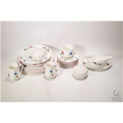 """Selection of Villeroy & Boch """"Persia"""" porcelain tableware including five dinner plates, three side p"""