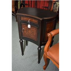 Modern Bombay flat to wall commode style chest