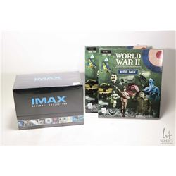 "Selection of new boxed DVDs including two 8 DVD sets of ""World War II - A Special 8 DVD Collection o"
