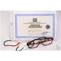 """Authentic original prop from the television production of """"Arrested Development"""" Oscar's screen worn"""