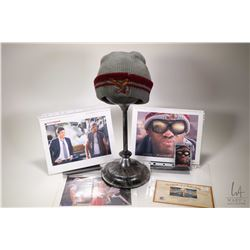 """Authentic Eagle Beanie worn in the movie """"Hancock ( Will Smith) including Columbia Pictures and Sony"""