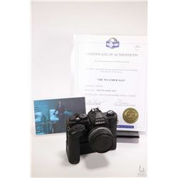 """Authentic movie proper """"Don's ( Gil Bellows) foam rubber """"Nikon"""" camera from the movie """"The Weather"""