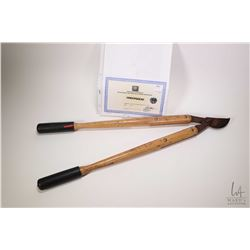 """Authentic television production PrisonBreak screen used garden pruners-""""Cell Test"""" with 20th Century"""