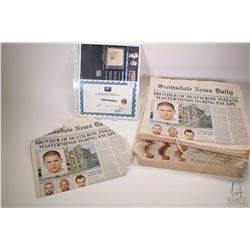 Authentic television production PrisonBreak screen used news paper bundle-SS2 with 20th century Fox