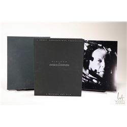 """First Edition of """"Visions of Armageddon"""" numbered and hand signed by Jerry Bruckheimer (Producer) an"""