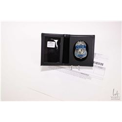 """Mike Doyle's ( Ricky Schroder) CTU badge from the television series """"24"""", original commercial invoic"""