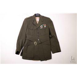 Authentic movie prop from the production of A Few Good Men; Capt. Jack Ross Uniform including USMC d