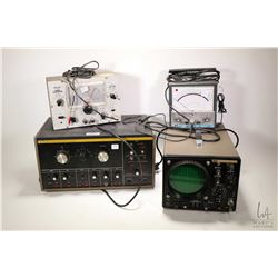 B & K Dynascan model 177 multi meter and a B & K Precision model 1460 oscilloscope tester, not teste