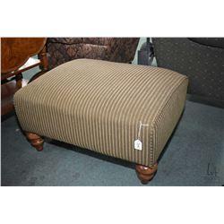 Modern oversized upholstered ottoman