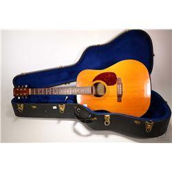 Norman model Studio-45 mid 1970's acoustic guitar, serial no. B16492 appears to be in original gentl