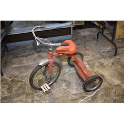 Child's vintage tricycle