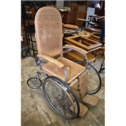 Antique wheelchair made by Arrow, Pennsylvania