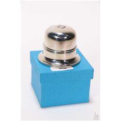 Brand new Birks Regency silver plate ring box