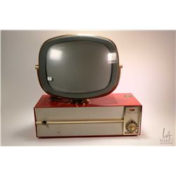 Vintage Philco Predicta model 3410 television, seems to light up, no antenna connected so no channel