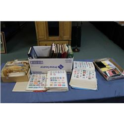 Large selection of stamps including albums, books, loose stamps, first day covers etc., both foreign