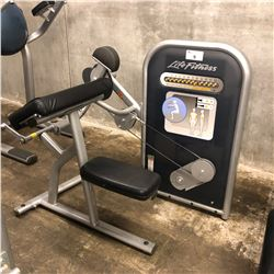 LIFE FITNESS BICEP CURL MACHINE