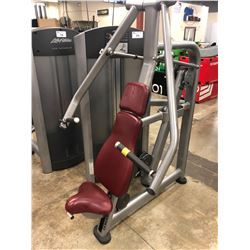 LIFE FITNESS WEIGHTED CHEST PRESS MACHINE