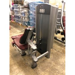 LIFE FITNESS WEIGHTED LEG EXTENSION MACHINE
