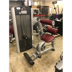LIFE FITNESS WEIGHTED BACK EXTENSION MACHINE