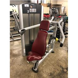 LIFE FITNESS WEIGHTED SHOULDER PRESS MACHINE