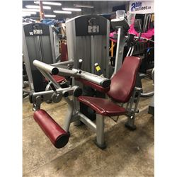 LIFE FITNESS WEIGHTED SEATED LEG CURL MACHINE