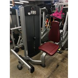 LIFE FITNESS WEIGHTED CALF EXTENSION MACHINE