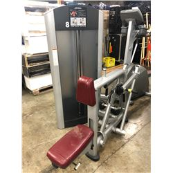 LIFE FITNESS WEIGHTED ROW/REAR DELTOID MACHINE