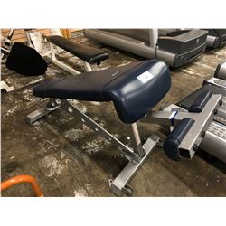 STAR TRAC ADJUSTABLE INCLINE BENCH
