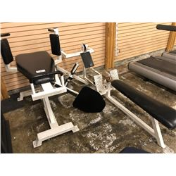 ASSORTED BODY WEIGHT BENCHES ETC.