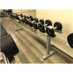 STEEL DUMBELL RACK, 13 SLOTS