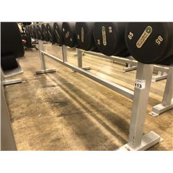 STEEL DUMBELL RACK, 12 SLOTS