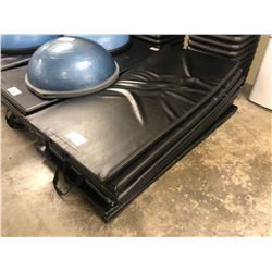 STACK OF 7 EXERCISE MATS