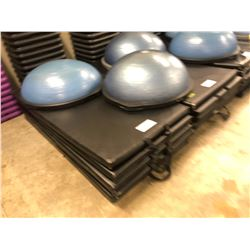 STACK OF 6 EXERCISE MATS