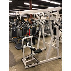 HAMMER STRENGTH WEIGHTED PULL DOWN MACHINE