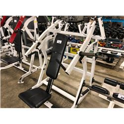 HAMMER STRENGTH ISO FRONT MILITARY PRESS MACHINE
