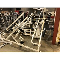 CABLE/PULLEY MULTI EXERCISE MACHINE, NEEDS ASSEMBLY, CONDITION UNKNOWN