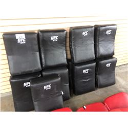 LOT OF 9 UFC BRAND BLOCKING BAGS