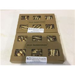 Old Fashioned 6 Mini Chocolate Eclair Pies (6 x 114g) Lot of 2