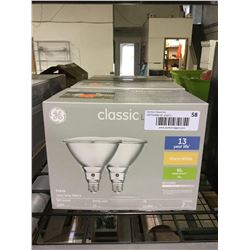 Case of 3 GE Classic LED 3000k 2-Pack Bulbs