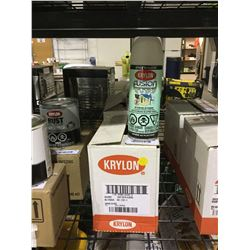 Case of Krylon Fusion for Plastic Aerosol Spray (6 x 340g)