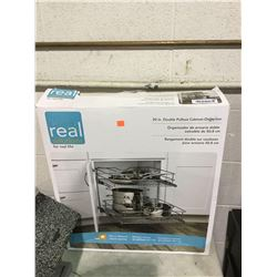 """Real Solutions 20"""" Double Pullout Cabinet Organizer"""