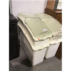 "CMC Mobile Ingredient Bin (27"" x 10"" x 32"" H)"
